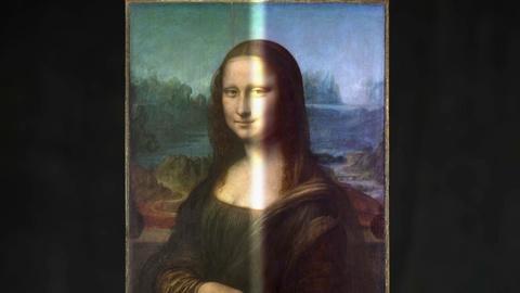 "NOVA -- Giving the ""Mona Lisa"" a Digital Makeover"