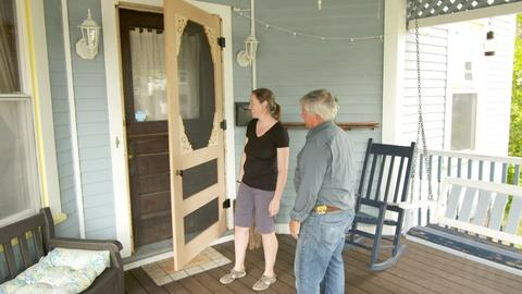 S18 E18: Custom Screen Door, Paint Trim   Ask This Old House