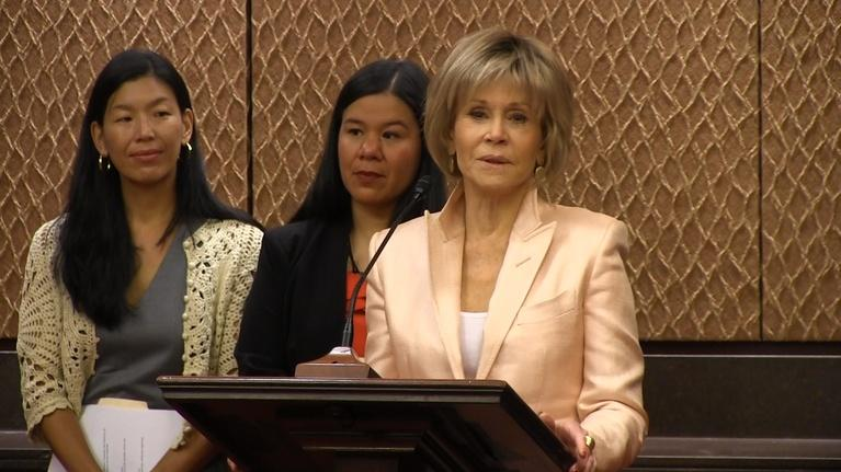 To The Contrary: TTC Extra: Jane Fonda on Women's Rights At Work