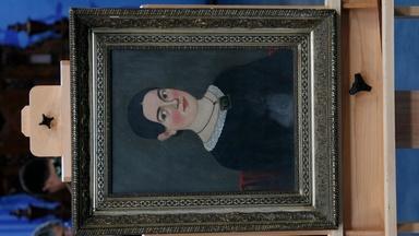 Appraisal: 19th Century Prior-Hamblin Folk Portrait