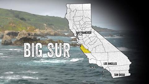 California Coastal Trail -- Big Sur: Sanctuary of the Spectacular