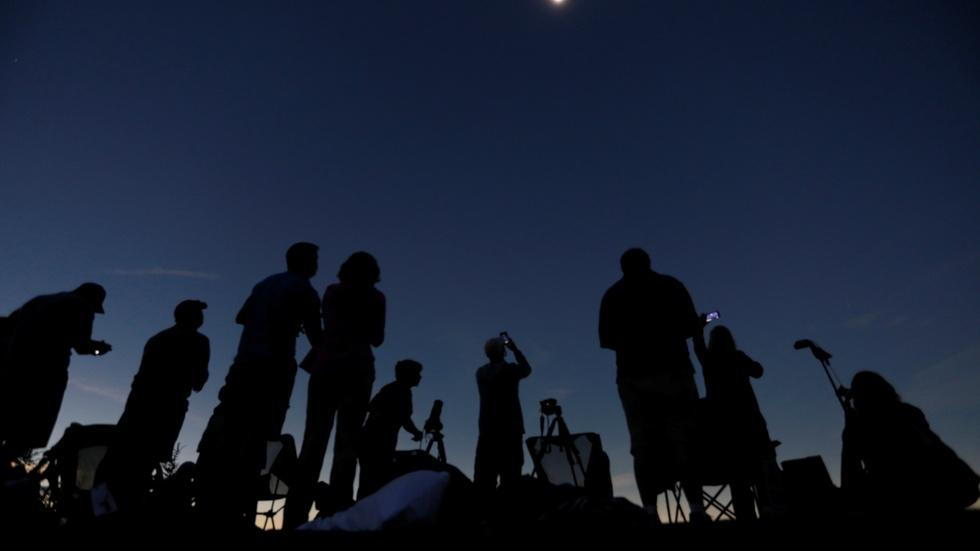 Millions of skygazers marvel at a historic American eclipse image