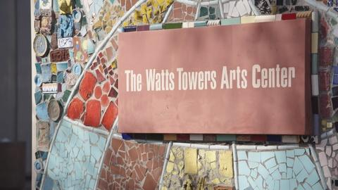 Artbound -- The Watts Towers Arts Center
