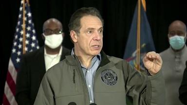New York Gov. Andrew Cuomo's Political Storm