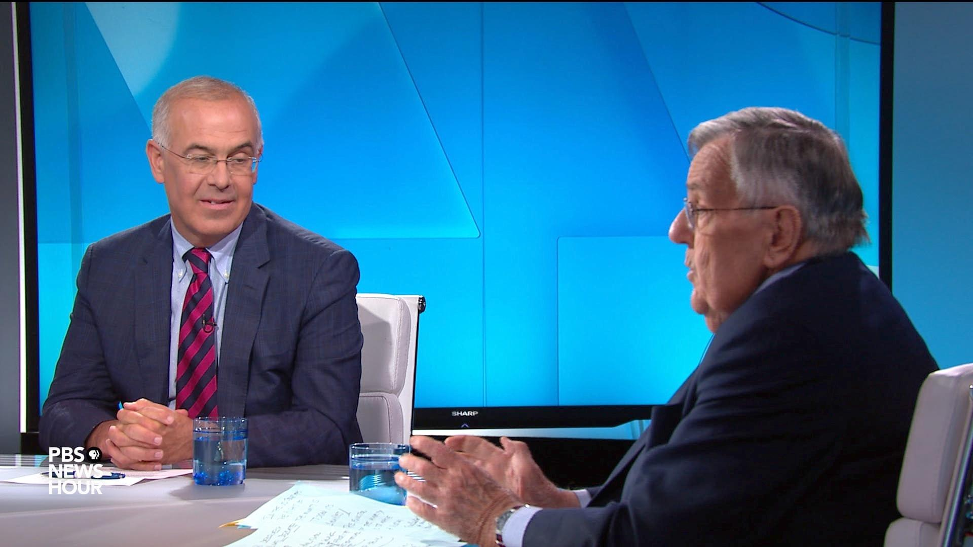 Shields and Brooks on Trump and race, Democrats' 2020 values