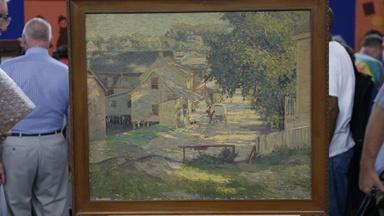 Appraisal: George W. Sotter Oil Painting