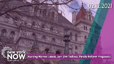 Nursing Homes Latest, Sen. Jim Tedisco, Parole Reform