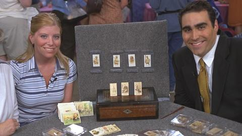 Antiques Roadshow -- S21 Ep22: Appraisal: Tobacco Card Collection, ca. 1885