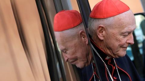 PBS NewsHour -- Pope sends 'signal' by defrocking ex-cardinal
