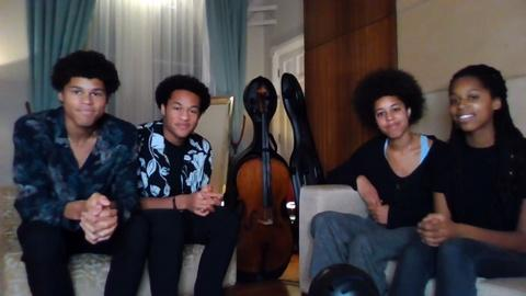 Amanpour and Company -- Seven Siblings Create Music Together in Lockdown