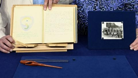 Antiques Roadshow -- Appraisal: WWII Journal + photo