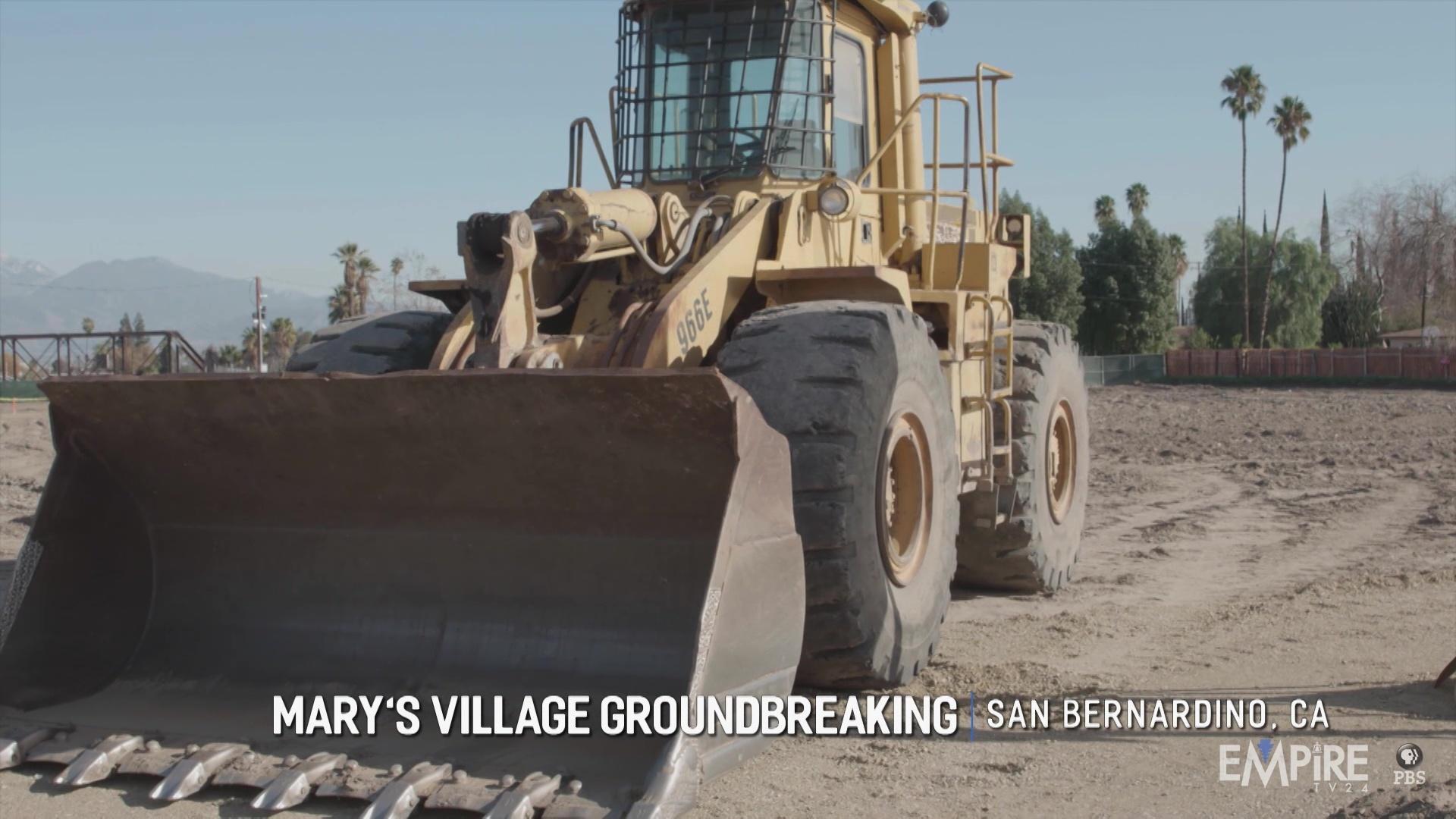 Mary's Village Groundbreaking