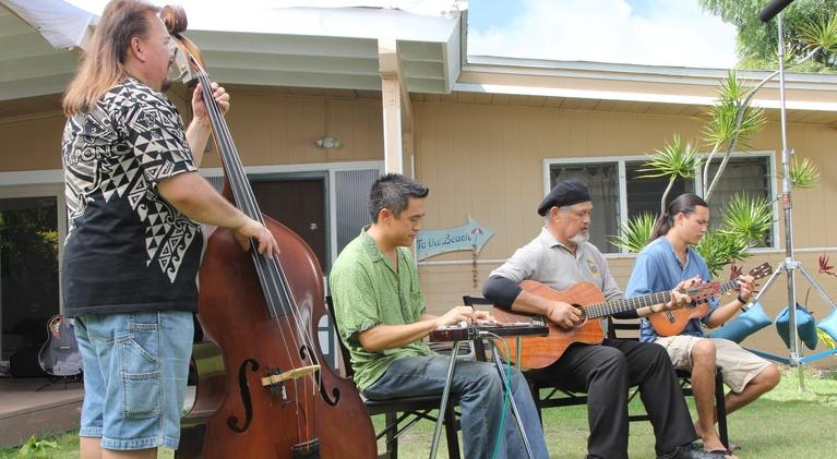 Pacific Heartbeat: Let's Play Music! Slack Key with Cyril Pahinui & Friends