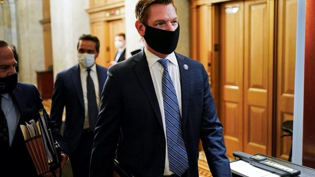 News Wrap: Swalwell sues Trump, allies for Capitol attack