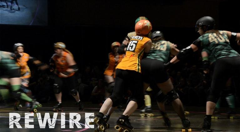 Rewire: Get Riled Up With Roller Derby League Minnesota RollerGirls
