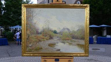 Appraisal: 1928 Alexis Fournier Oil Painting