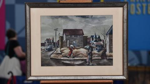 Antiques Roadshow -- S21 Ep18: Appraisal: 1944 Kelly Fearing Watercolor Painting