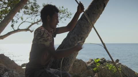 In Vanuatu the Islanders Depend on Fishing to Survive