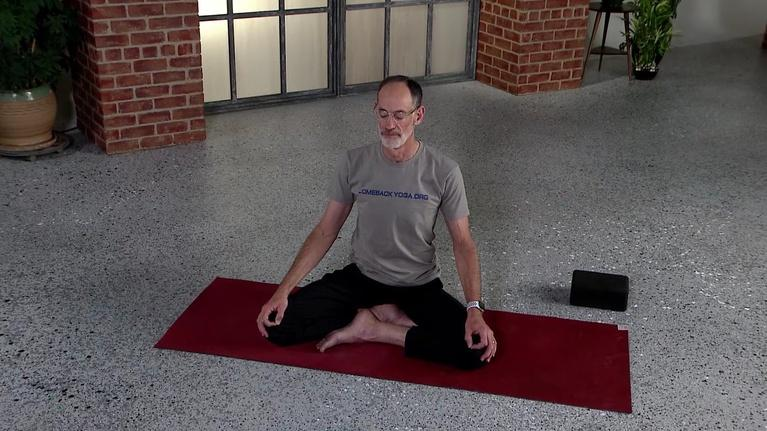 Comeback Yoga: Control Your Breath