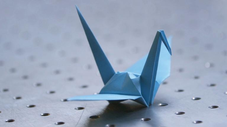 Human Elements: In Origami, Science Unfolds