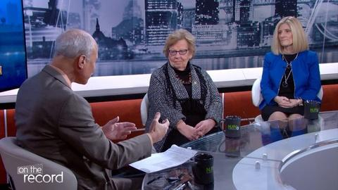 Senators Loretta Weinberg and Kristin Corrado