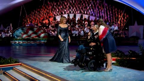 "National Memorial Day Concert -- Renée Fleming and CPT Luis Avila Perform ""God Bless America"""