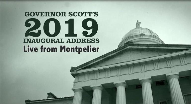 Vermont PBS Specials: 2019 Inaugural Address - VT Governor Phil Scott