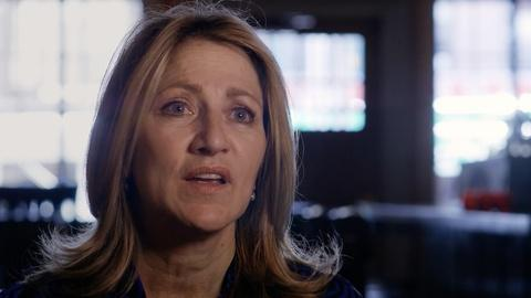 "American Masters -- Edie Falco on ""Frankie and Johnny in the Clair de Lune."""