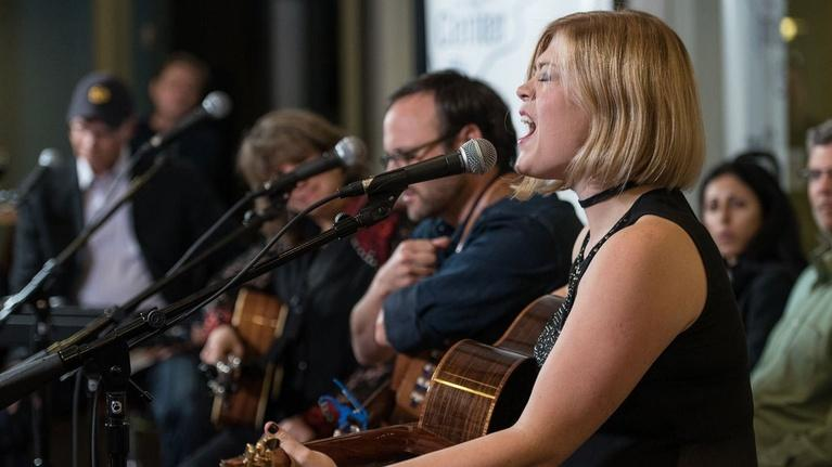 Songs At The Center: Liz Longley, Gretchen Peters, Travis Meadows, Anne E.DeChan