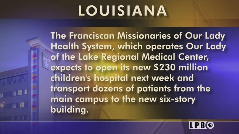 Louisiana: The State We're In: Hospital For Children, BESE Board, State Senate, Voters