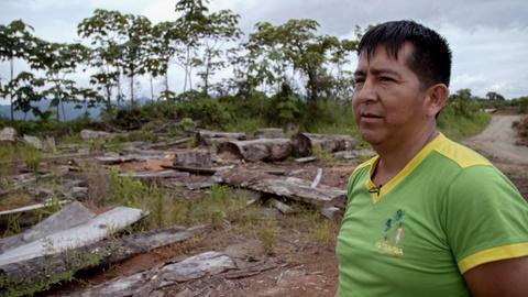 Earth Focus -- Illegal Gold Mining Destroys Native Kotsimba Land in Peru