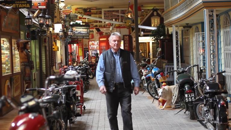 Short Takes: The Ride Never Ends: Bill's Old Bike Barn