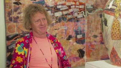 Amanpour and Company | Grayson Perry Showcases His Latest Exhibition