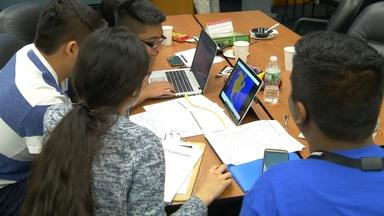 Clifton STEM students navigate virtual competition