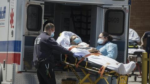 PBS NewsHour -- What 2 EMTs are seeing as they respond to NY virus outbreak