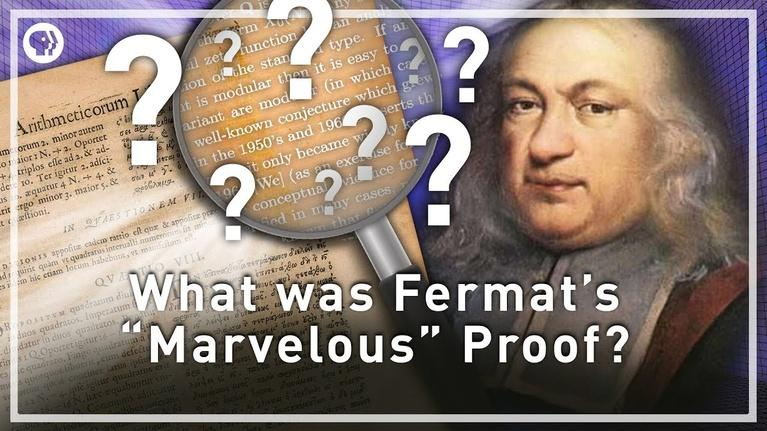 "Infinite Series: What was Fermat's ""Marvelous"" Proof?"