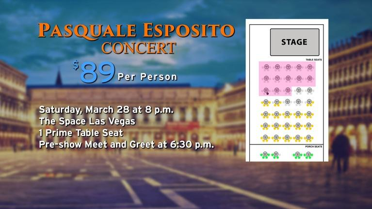 Vegas PBS: Pasquale Esposito Concert at The Space