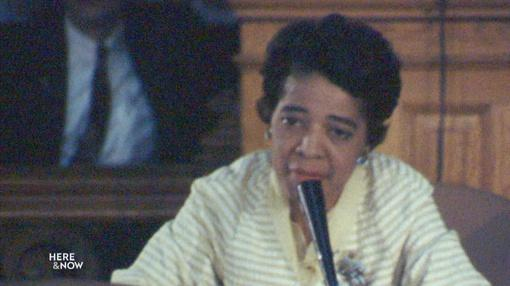 Here and Now : Calls for a Statue of Vel Phillips at the State Capitol