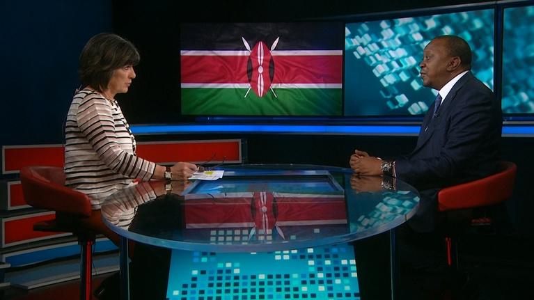 Amanpour on PBS: Amanpour: Uhuru Kenyatta, 'Sting' and 'Shaggy'