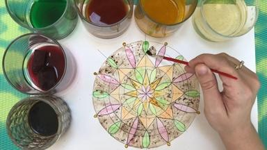 How to Draw and Paint a Mandala - Laura Zimmaro -Third Grade