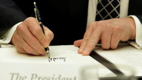 PBS NewsHour -- What a president's first 100 days actually tells us
