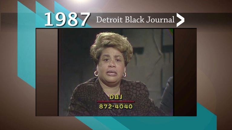 American Black Journal: 1987 DBJ Conversation: Detroit School Board