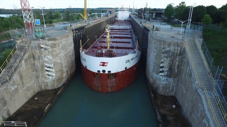 Great Lakes Now: Freighter Technology