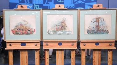 Antiques roadshow new orleans hour one wttw appraisal 1892 mardi gras comus krewe float watercolors publicscrutiny Image collections