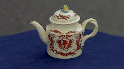 Antiques Roadshow -- Appraisal: English Creamware Teapot, ca. 1770