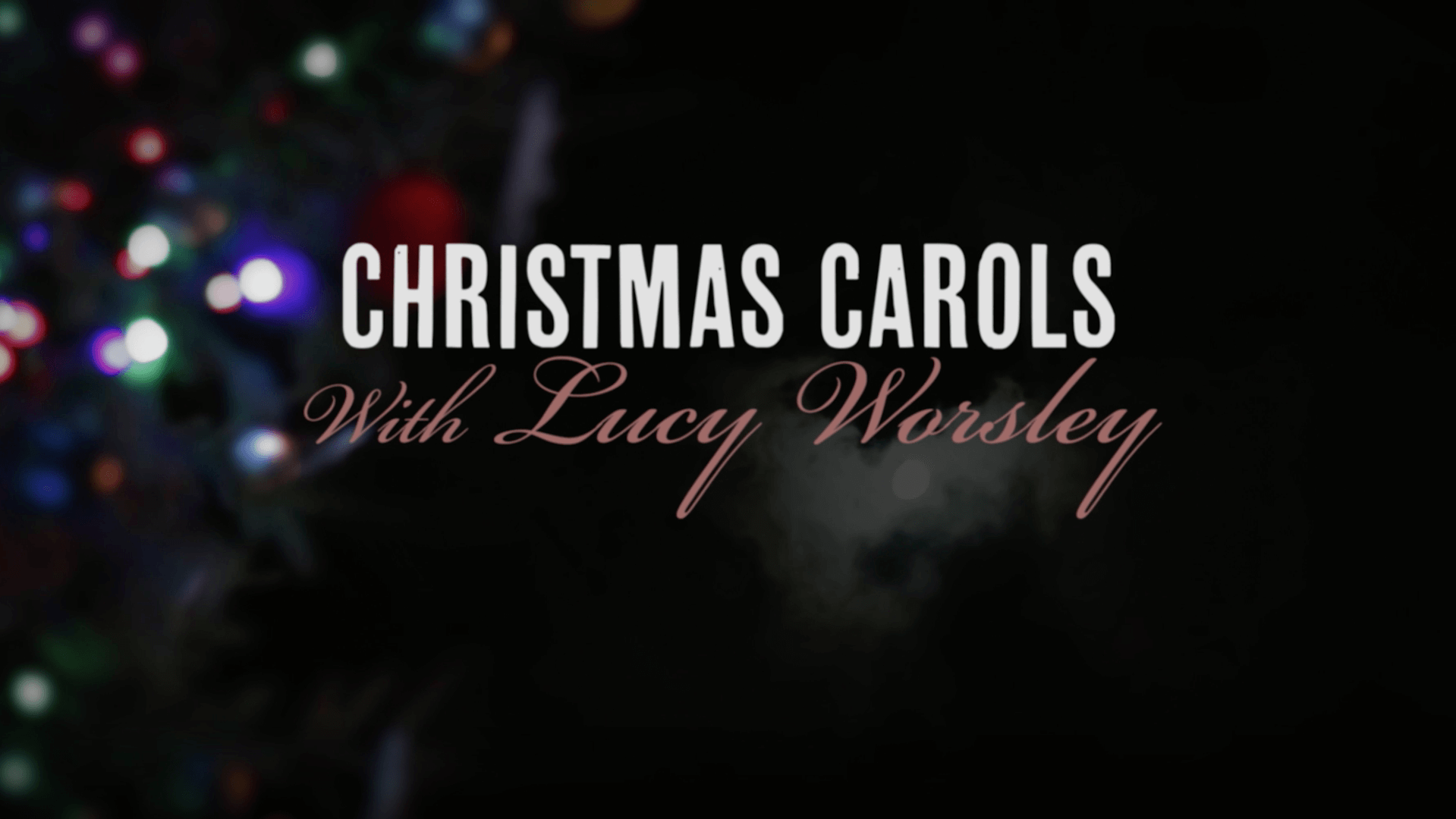Christmas Carols with Lucy Worsley   Preview