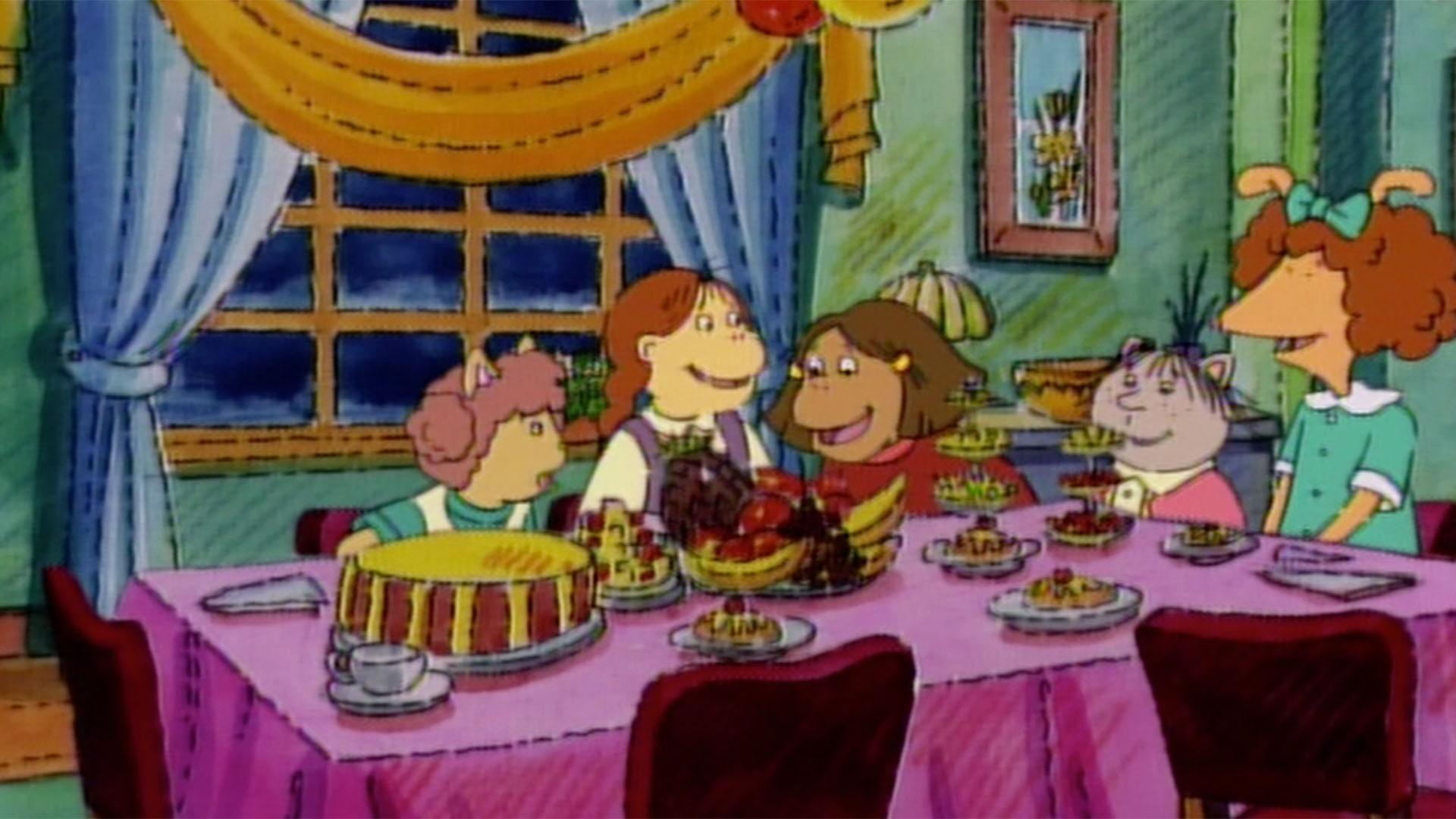 Arthur Grandma Thora Appreciation Day/Fern's Slumber Party on