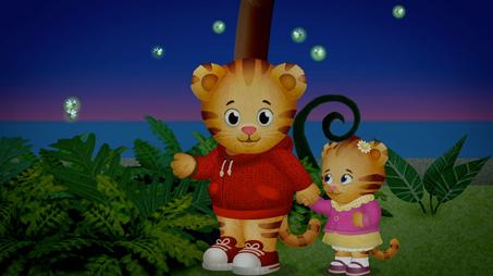 Margaret Is Afraid Of Fireflies Daniel Tiger S Neighborhood