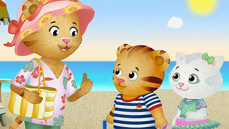 Playing on Jungle Beach | Daniel Tiger\'s Neighborhood Videos | PBS KIDS