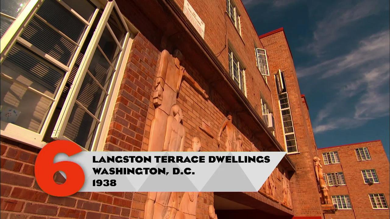Homes Langston Terrace Dwellings Washington D C 10